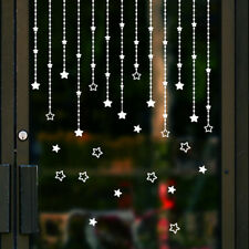 Sterne Wandaufkleber Fenster Wohnkultur Dekoration Frohe Weihnachtsbaum