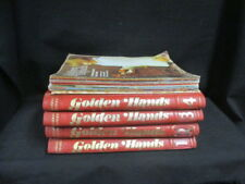 74 PARTS; 1-60 SEQUENTIAL ISSUES OF GOLDEN HANDS MARSHALL CAVENDISH MAGAZINES