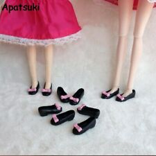 Fashion Bowknot Shoes For Blythe Dolls 1/6 Flat Shoes For Licca Doll Mini Shoes
