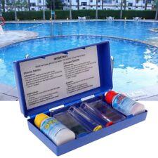 1 Set PH Chlorine Water Quality Test Kit Swimming Pool Aquarium Accessory Tester