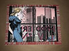 Faile Modern Living Red Art Print Poster Signed & Numbered