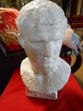 Magnificent Collectible MARCU VISPANIUS AGRIPPA  Bust Statue-Roman General
