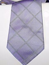 MENS PIERRE CARDIN LILAC/PURPLE SILK TIE IN EXCELLENT CONDITION   # 387