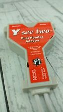 Y see two dual monitor adapter PS2 keyboard power