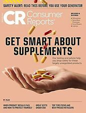 CONSUMER REPORTS MAGAZINE DECEMBER 2019 GET SMART ABOUT SUPPLEMENTS-