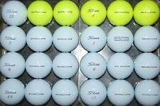 24 ( 2 DOZEN )   2021 TITLEIST  PRO  V1  &  V1x  used Golf Balls AAAAA Free Tees