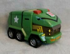 Transformers Animated 2007 - Bumper Battlers - Talking Bulkhead Vehicle / Figure