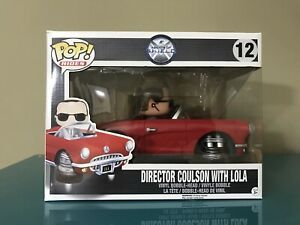 Director Coulson With Lola 12 Pop Vinyl Funko Rides