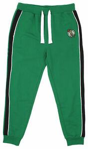 FISLL NBA Men's Boston Celtics French Terry Jogger with Piping