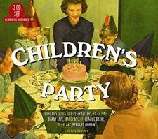 CHILDREN'S PARTY, BURL IVES, DORIS DAY, CHARLIE DRAKE, PAT BOONE  3 CD NEW+