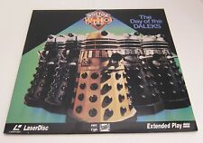 DOCTOR WHO : The Day Of The DALEKS, LASERDISC Jon Pertwee Katy Manning TESTED