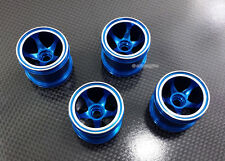 Alloy Front+Rear Sinkage Wheel/Rims 5 spoke for Kyosho Mini-Z Monster