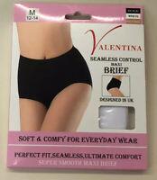 Single Pack Ladies Seamless Control Maxi Briefs Maxi Knickers Cotton Underwear