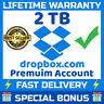 Dropbox Premium 2TB ✔️ LifeTime Account 🔥 Custom Account 🔥 Fast Delivery ⚡