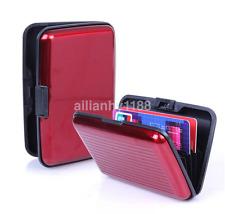 Identificación de Negocio titular de la tarjeta de crédito Billetera Estuche de Bolsillo Aluminio metal Cubierta de RFID anti