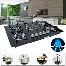 "New Listing30"" 5 Burners Gas Cooktop Built-in Gas Stove Ng/Lpg Countertop Burners Home Cook"