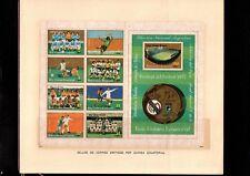 EQUATORIAL GUINEA, Real Madrid Club de Futbol, 75th Ann Folder, Soccer, AR5