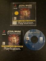 Star Wars Episode 1 The Phantom Menace | PS1 PSX PAL | Boxed with Manual