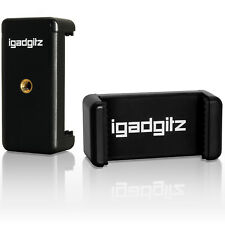 Universal Smartphone Holder Mount Bracket Adapter for Tripods & Selfie Sticks