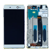 HQ For Sony Xperia C6 XA Ultra F3211 F3213 LCD Touch Screen Front Frame White