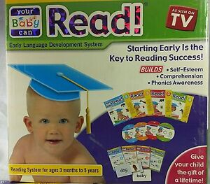 "Your Baby Can Read 4-level in high demand ""Retail kit Box""(limited Sale price)"