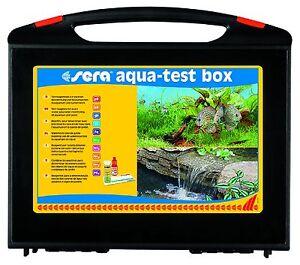 Sera  Aqua Testbox Wasser-Testkoffer