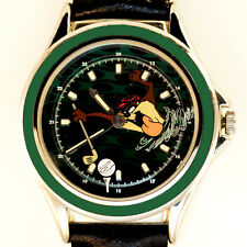 Golfing Taz, Looney Tune Fossil Made W-B Extremely Rare Animated Dial Watch! $79