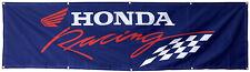 Honda Racing Flag Automotive Racing 2X8FT Banner-