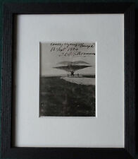 Jacob Christian Hanen Ellehammer Pioneer of Flight Signed Photo 1906