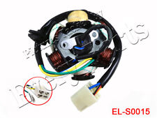 6 Coil Magneto Stator Alternator for GY6 50cc 110cc 150cc Chinese Scooter ATV