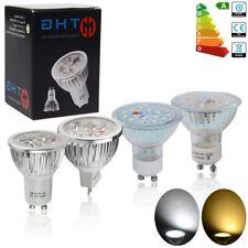 20/10/4x GU10 MR16 5W 6W 7W LED Bulbs Spot Lamps Day /Warm White Light Downlight