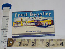 Rare full pack Ford car dealer, parts Fred Beasley Co. Williamsport, Pa. matches
