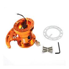 Works Bell Rapfix Flip Up ilt Racing Steering Wheel Quick Release Hub Kit GOLD