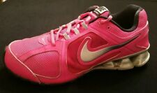 Nike Reax Run 8 Women's 8.5 Running Cross Train Shoes Sneakers Pink Grey Black