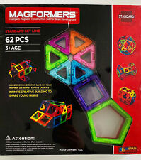 MAGFORMERS STANDARD SET 62 Pieces Educational Toy STEM toy Brain Training