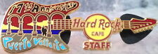 Hard Rock Cafe PUERTO VALLARTA 2007 17th Anniversary STAFF PIN Guitar HRC #41948
