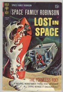 Lost in Space – Space Family Robinson #29 August 1968 VG Formless Foe