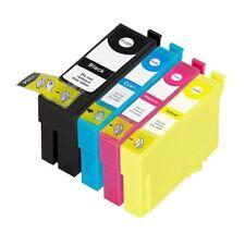 4 Ink Cartridges For Epson 34XL WorkForce Pro WF-3725DWF