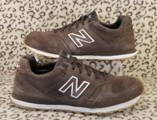 NEW BALANCE 554 MENS ATHLETIC RUNNING SHOES SIZE 10.5 BROWN SUEDE LEATHER M554CA