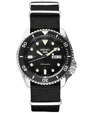 "Special Edition Seiko 5 Sports Men's Dive Watch Automatic Nylon Strap ""SKX007"""