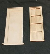 1:20.3 Scale Window, Scale Art Parts FW5 Window and Frame