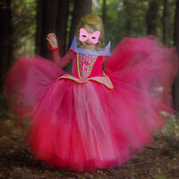 Halloween Princess Wonderland Sleeping Beauty Fancy Dress Costume Aurora Outfit