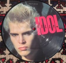 "BILLY IDOL hot in the city*dead on arrival 1982 UK CHRYSALIS 7"" PICTURE DISC"