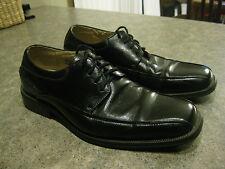 Mens FLORSHEIM CURTIS Black Leather Lace Up Dress Shoes Size 8 D EXC COND