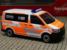 1/87 Herpa VW T6 Notarzt Feuerwehr Frankfurt 094986
