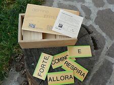 NUOVO 2f  Domino primi racconti in legno