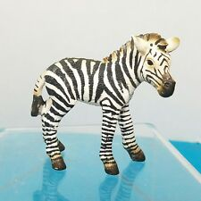 Schleich Baby Zebra Foal Realistic Toy Animal Figure