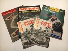 Vintage Lot Railroad Track Planning How to Wire Model Craftsman Train Magazines
