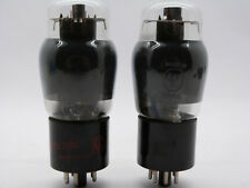 Matched pair of real NOS 6V6G Cokebottle tubes, Marconi, Canada