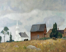 Newell Convers Wyeth Ridge Church Print 11 x 14 #3980